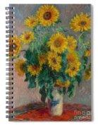 Bouquet Of Sunflowers Spiral Notebook