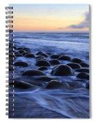 Bowling Ball Beach Spiral Notebook