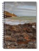 Bracelet Bay And Mumbles Lighthouse Spiral Notebook