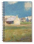 Breton Village Spiral Notebook