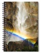 Bridalveil Falls Spiral Notebook