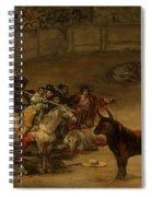 Bullfight - Suerte De Varas Spiral Notebook