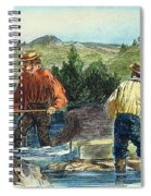 California Gold Rush Spiral Notebook