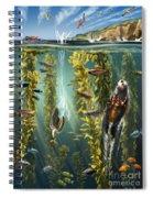California Kelp Forest Spiral Notebook