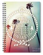 California Palms I Spiral Notebook