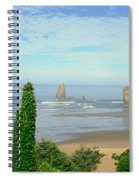 Cannon Beach, Oregon Spiral Notebook