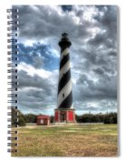 Cape Hatteras Lighthouse, Buxton, North Carolina Spiral Notebook