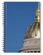 Capital Of West Virginia In Charleston Spiral Notebook