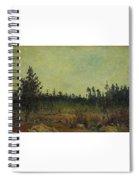 Carl Fredrik Hill Spiral Notebook