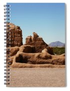Casa Grande Ruins Spiral Notebook