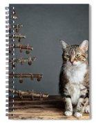 Cat Christmas Spiral Notebook