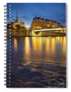 Cathedral Notre Dame - Paris Spiral Notebook