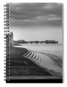 Central Pier Blackpool Spiral Notebook