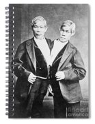 Chang And Eng, Siamese Twins Spiral Notebook