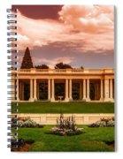 Cheesman Park Denver Spiral Notebook