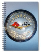 Chevrolet Corvette Badge Spiral Notebook