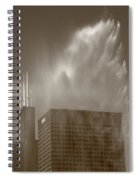 Chicago - Buckingham Fountain Spiral Notebook