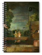 Christ And The Samaritan Woman At The Well Spiral Notebook