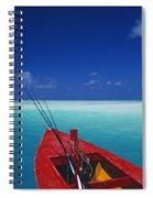 Christmas Island, Bone Fi Spiral Notebook