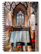 Church Interior Spiral Notebook