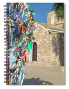Church Of Profitis Elias - Cyprus Spiral Notebook