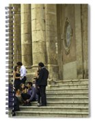 Church Step Lovers Spiral Notebook