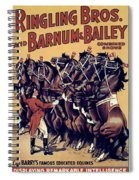 Circus Poster, 1920s Spiral Notebook