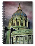 City Hall San Francisco II Spiral Notebook