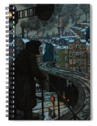 City Of Workers Spiral Notebook