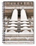 Classic Architecture Spiral Notebook