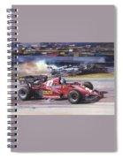 Cma 081 1983 San Marino Gp Imola Patrick Tambay In Ferrari Roy Rob Spiral Notebook