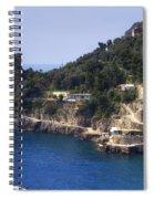 Furore - Coast Of Amalfi Spiral Notebook