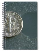 Coin Containing Silver Inhibits Spiral Notebook