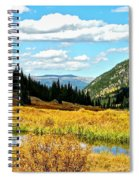 Colorado Mountain Lake In Fall Spiral Notebook
