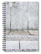 Concrete Background Spiral Notebook