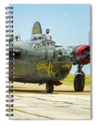 Consolidated B-24j Liberator Spiral Notebook