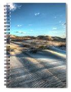 Coquina Beach, Cape Hatteras, North Carolina Spiral Notebook