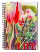 2 Corinthians 3 6 Spiral Notebook