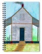 Cracker Cabin Drawing Spiral Notebook