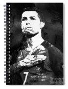 Cristiano Ronaldo Oki Spiral Notebook
