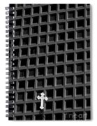 Cross And Building Spiral Notebook
