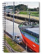 Crossing Panama Canal Spiral Notebook