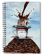 2 Cups Coffee Spiral Notebook