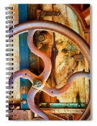 Curves And Lines  Spiral Notebook