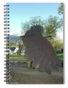 Custer Park, Bismarck, Nd, Usa - Bicentennial Of The Constitution Spiral Notebook