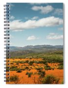 Daisies Blooming In Namaqualand 2 Spiral Notebook