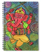 Dancing Ganesha Spiral Notebook