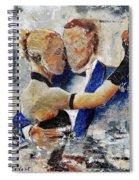 Dancing Tango Spiral Notebook