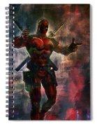 Deadpool Spiral Notebook