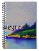 Deception Pass Bridge Spiral Notebook